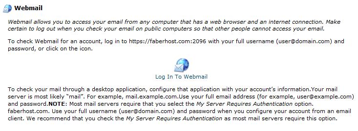 panduan untuk mengakses webmail - AnekaHosting.com