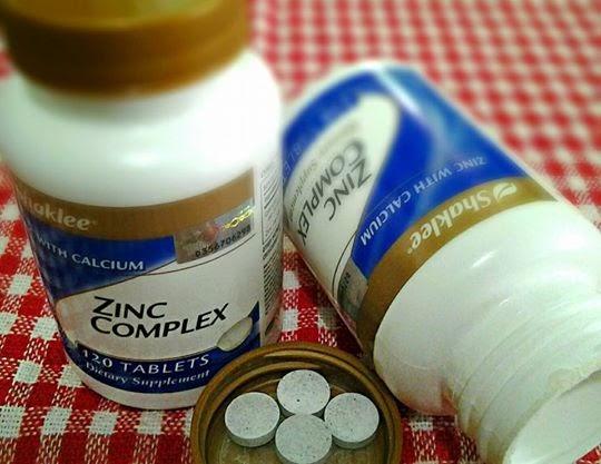 zinc shaklee,kelebihan dan kebaikan zinc shaklee
