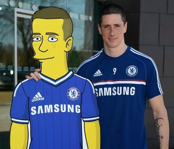Fernando Torres Los Simpsons