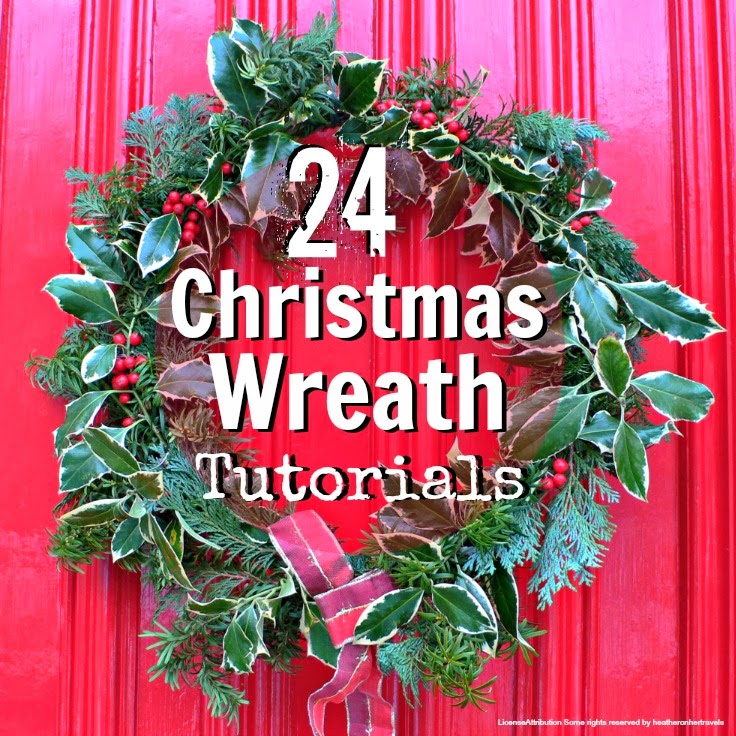 Redirecting Christmas wreaths to make