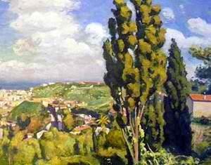 Albert Marquet's Le Cypres de Djenan Sidi Said (1946)