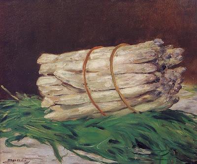 Edouard Manet -  Bunch of Asparagus