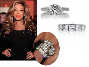 The Vintage Rings Design of Wendy Williams Rings