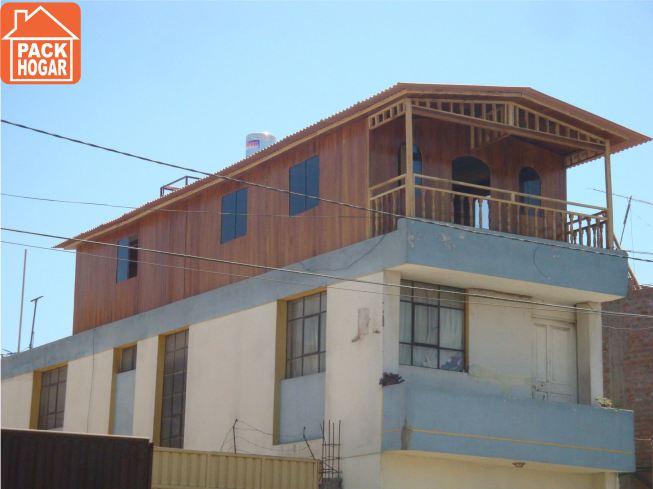 Casas prefabricadas en azoteas peru for Casas segundo piso de madera