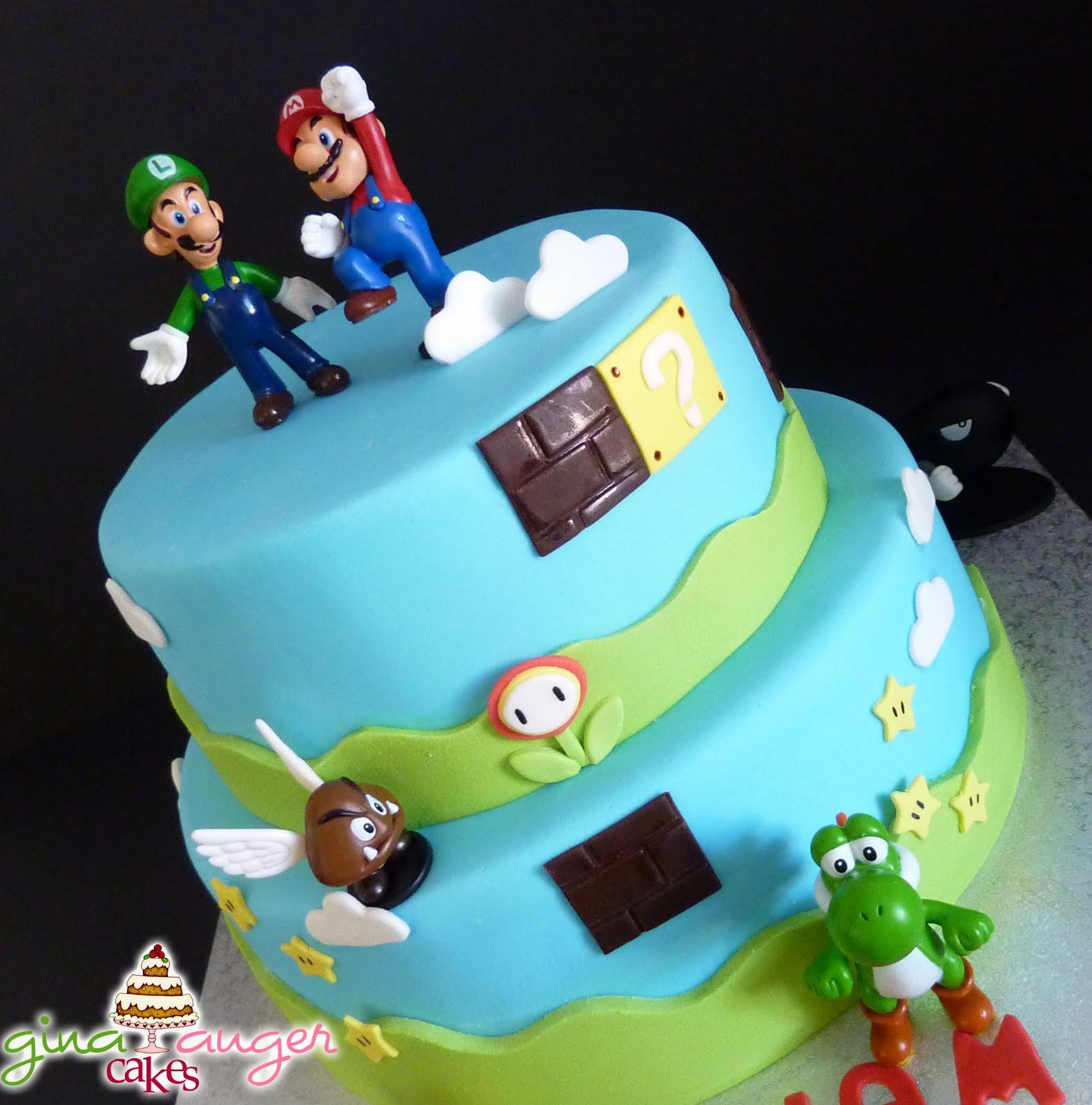 Top That Mario Bros Cake  Williams Th Birthday - 5th birthday cake boy
