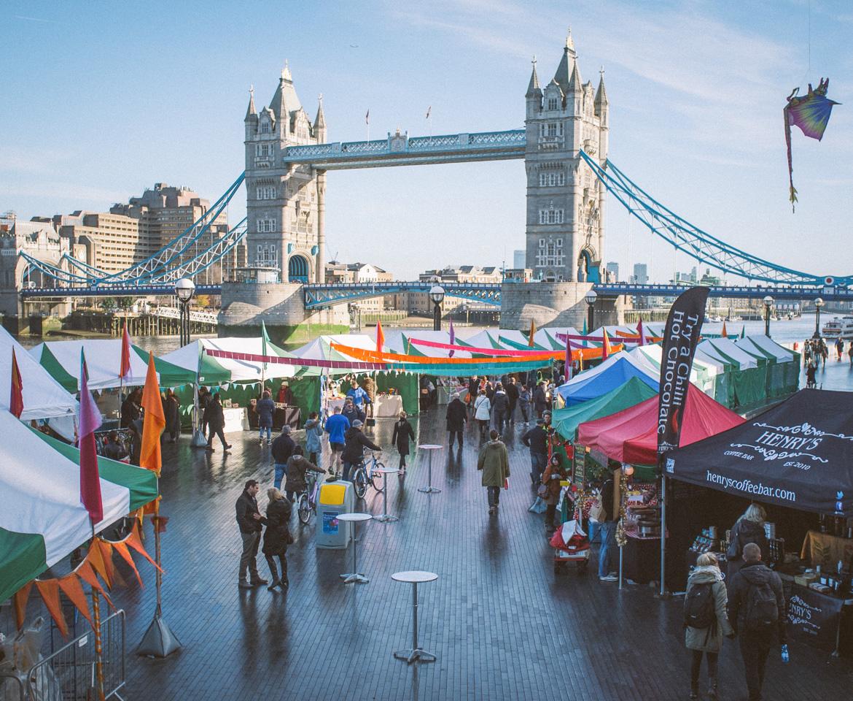 christmas market london now