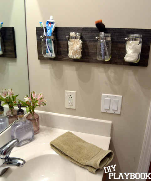 Bathroom Wall Decorating Ideas Pinterest : Bourbon bottle soap dispenser diy playbook
