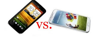 Samsung Galaxy S4 vs. HTC One X+