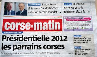 Elections présidentielles 2012