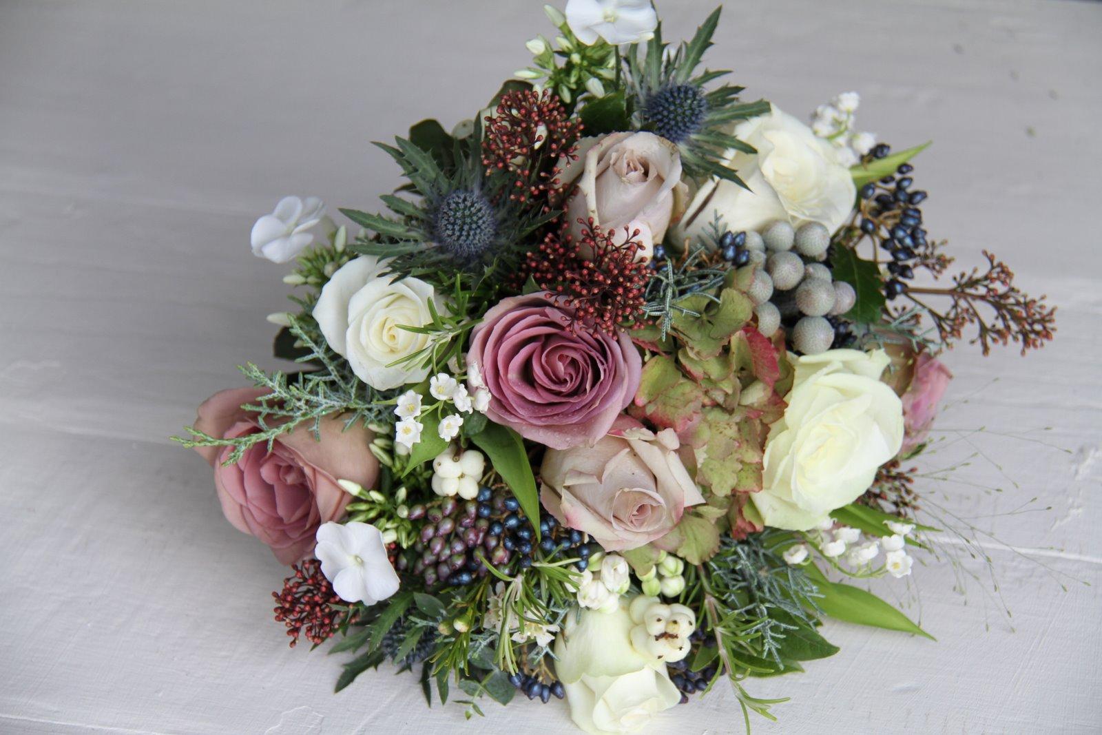 The Flower Magician Vintage Winter Berry Bouquet