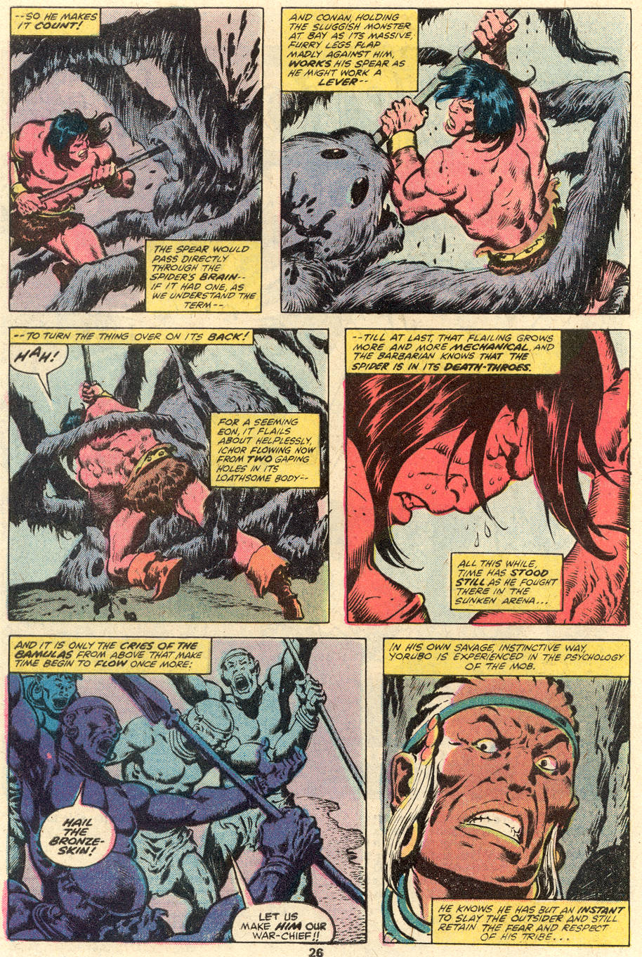 Conan the Barbarian (1970) Issue #101 #113 - English 15