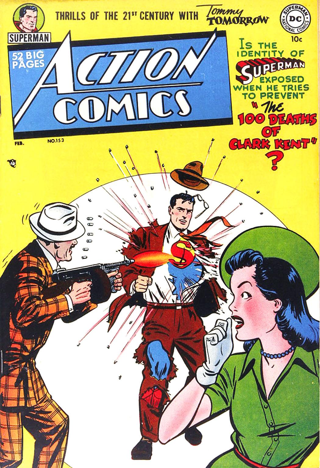 Action Comics (1938) 153 Page 1