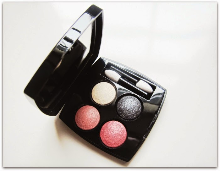 Chanel Les 4 Ombres Eyeshadow Tisse Paris Spring Makeup 2015