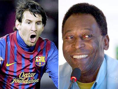 ¡¡Messi está a cuatro goles de igualar a Pelé!!