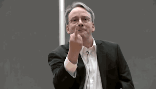 Linux Torvalds F You