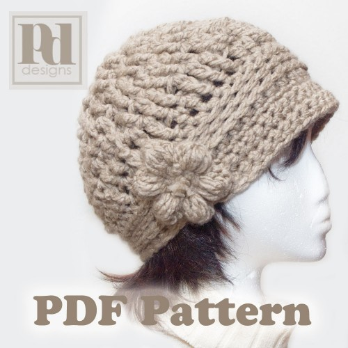 Polkadot Lane Pin It Make It Crochet Cloche Hat