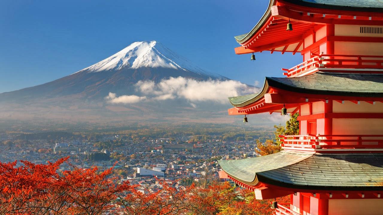 Fuji Volcano, Japan: