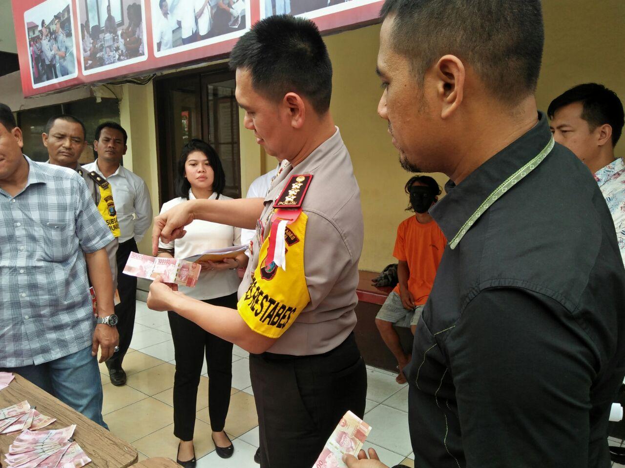Polrestabes Medan Amankan Dua Pengedar Upal
