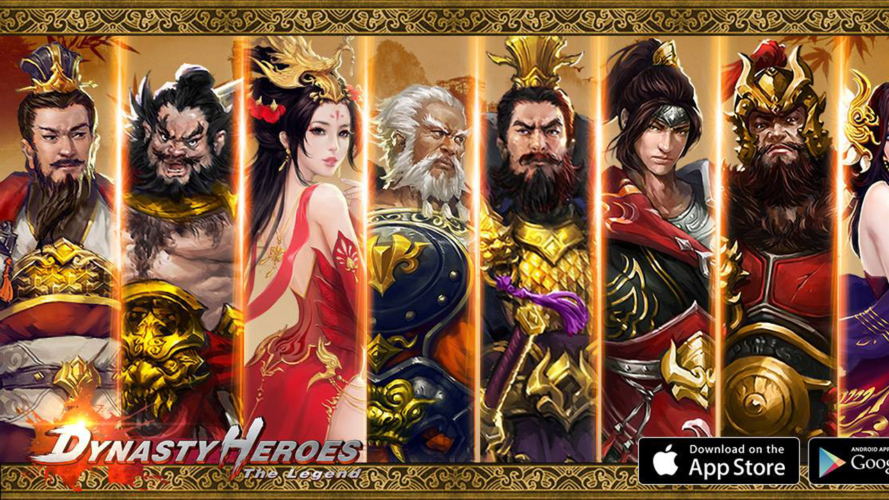Dynasty Heroes: The Legend Gameplay IOS / Android