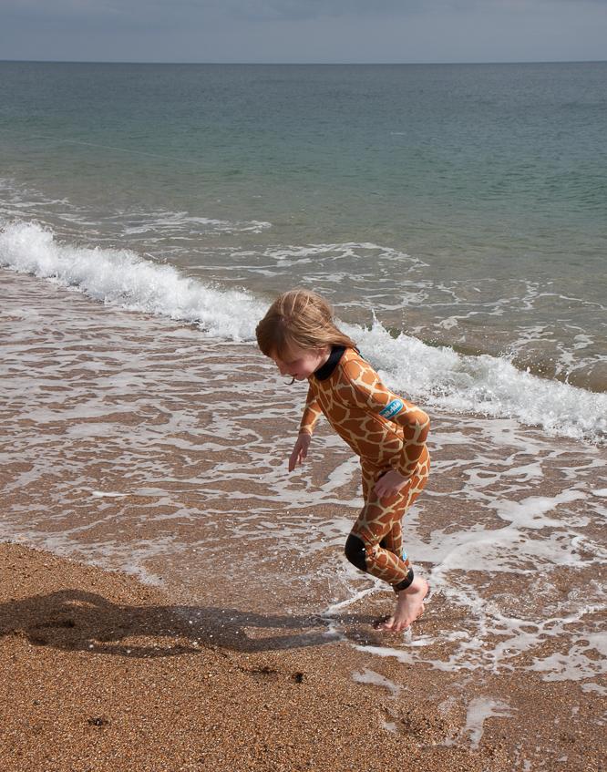 saltskin animal print wetsuits for children