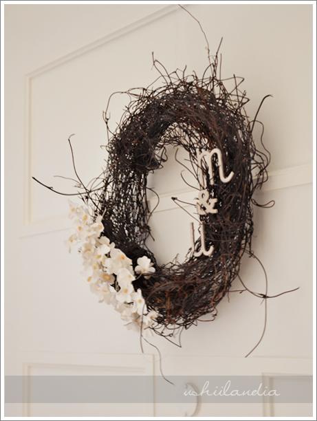 wianek z monogramem / monogam wreath