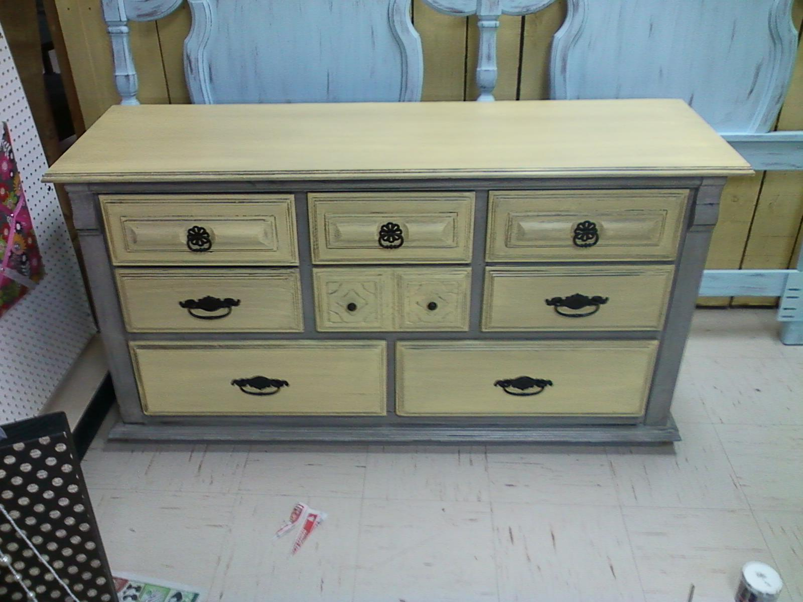 paint furniture without sandingGarbage to Glam How to paint a dresser without sanding