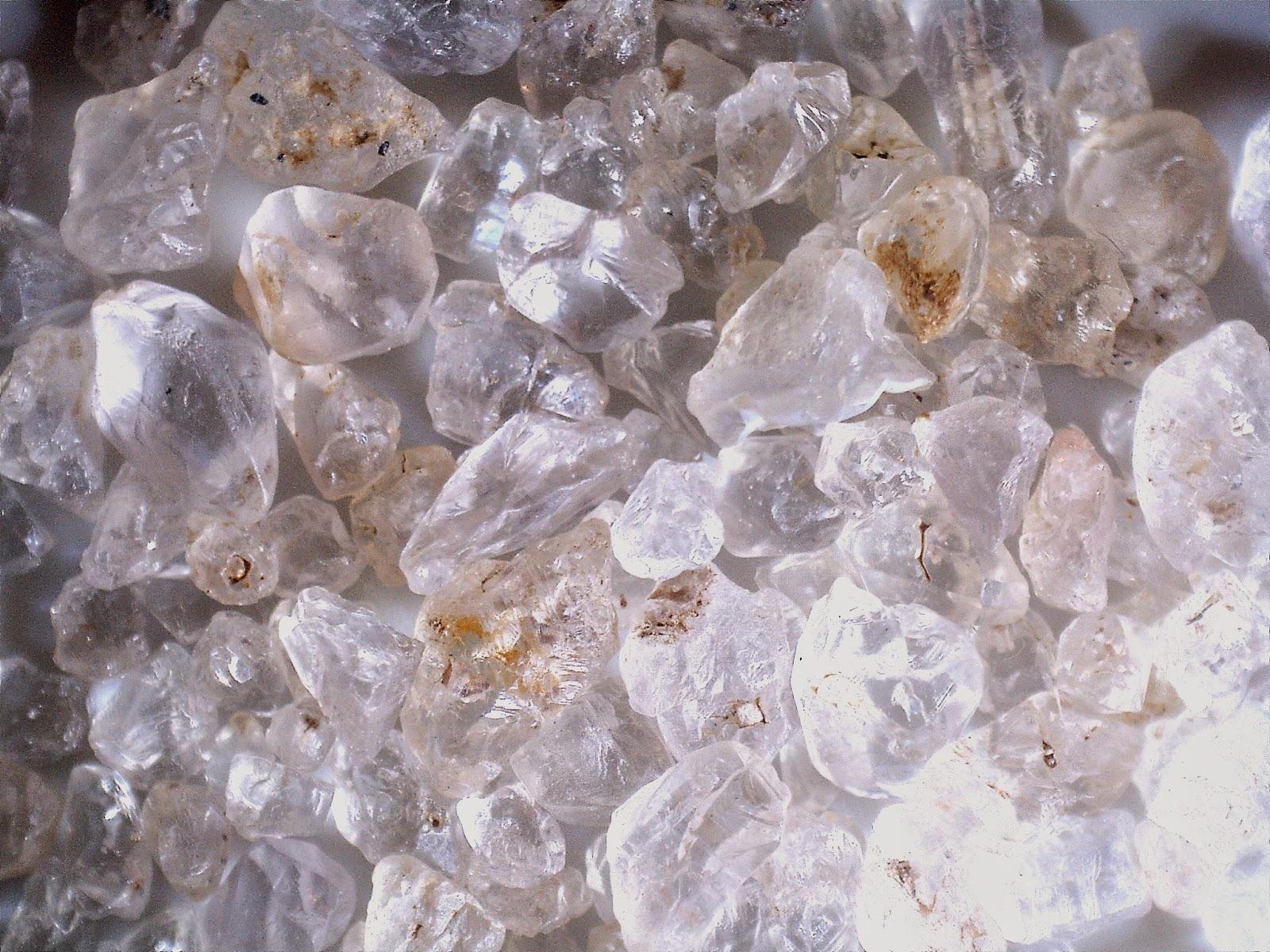 harvester ant mound crystal specimens