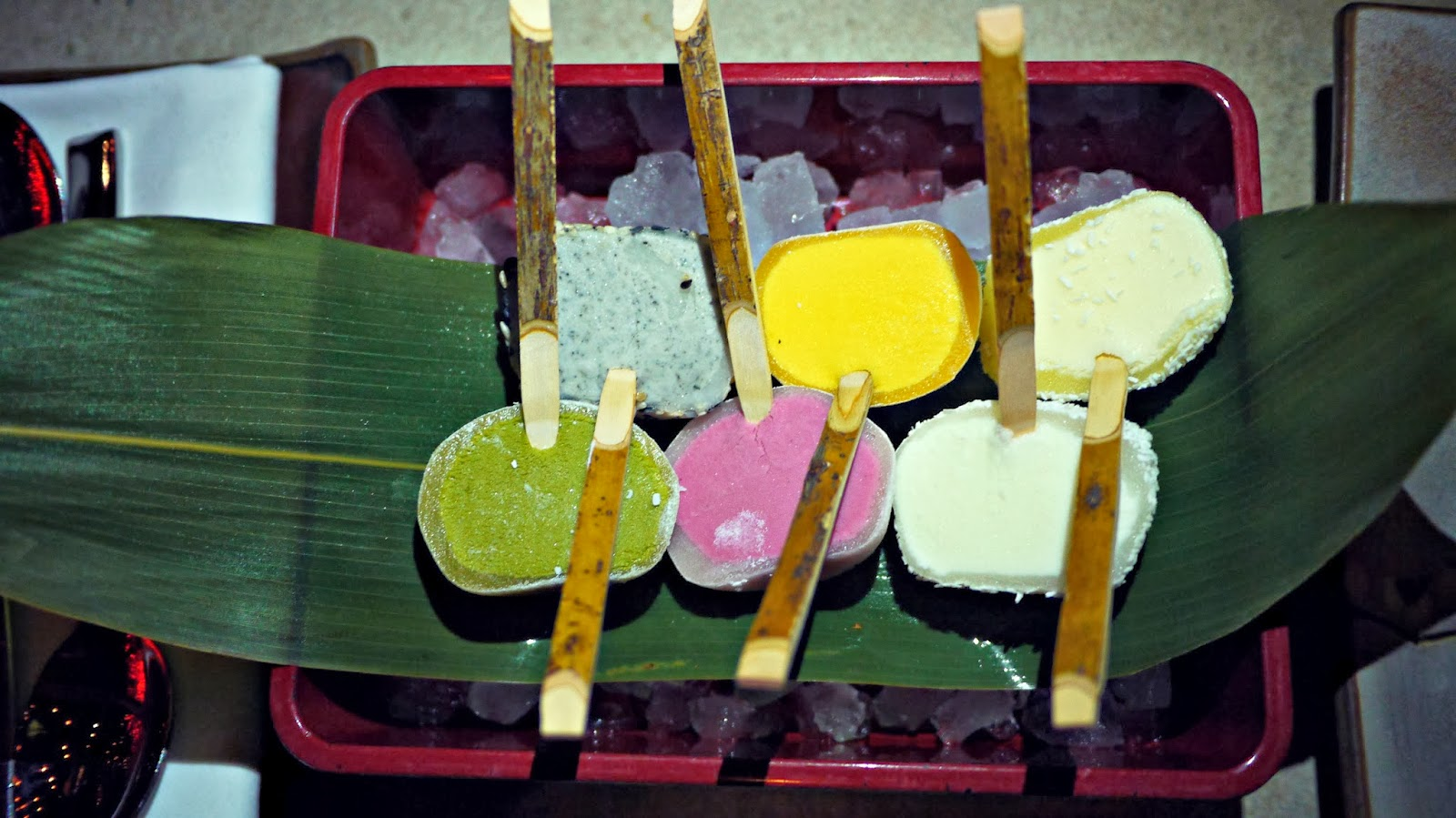 Sushisamba London food review Mochi