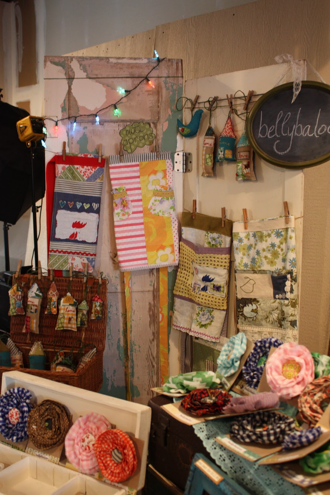 Bliss handmade 2011 holiday boutique recap for Holiday boutique