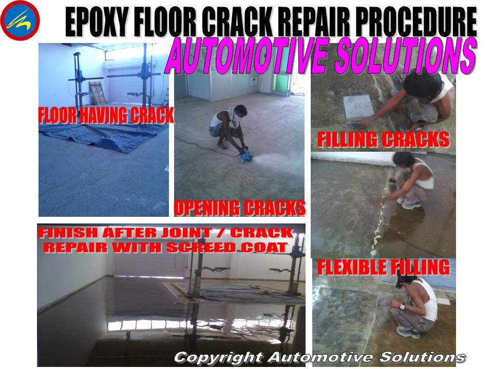 Epoxy Crack Repair : Store for high performance paints coatings in india