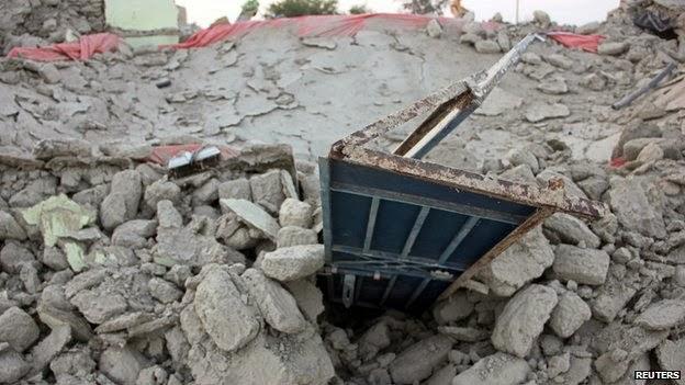 Hundreds dead in Balochistan earth quake