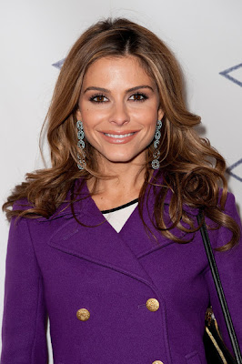 Maria Menounos Long Curls Hairstyle Photo