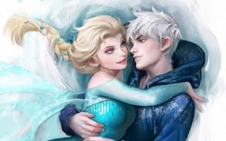 Gambar Elsa dan Jack Forst wallpaper 1