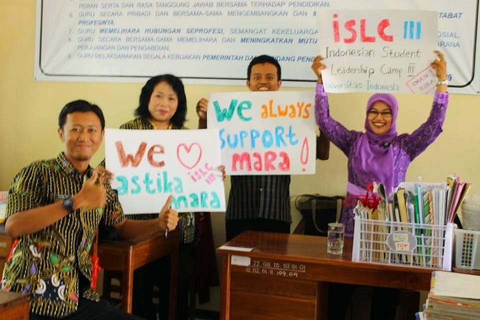 Siswi SMA Negeri 1 Blora Akan Ikuti ISLC Universitas Indonesia
