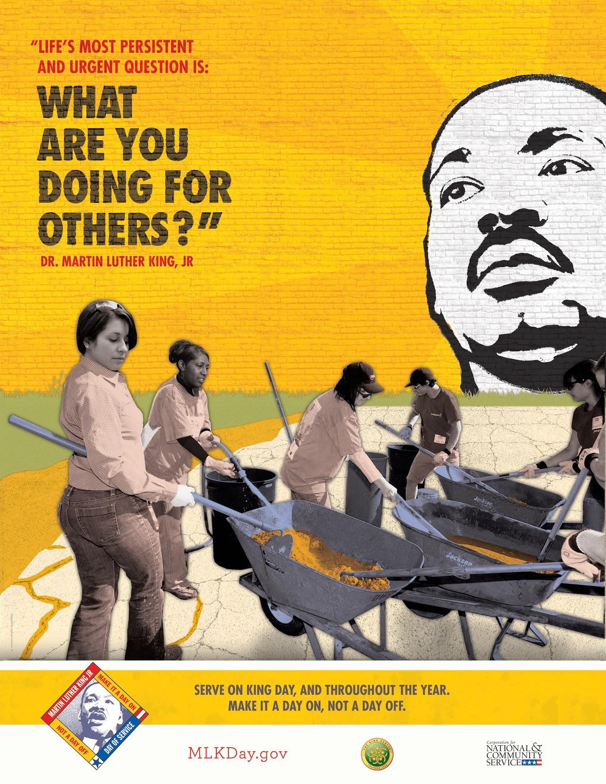 Bergen Volunteer Center Dr Martin Luther King Jr Day Of Service