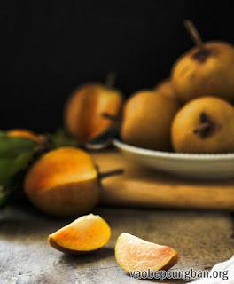 Cách làm sinh tố hồng xiêm thơm ngon nhanh gọn2