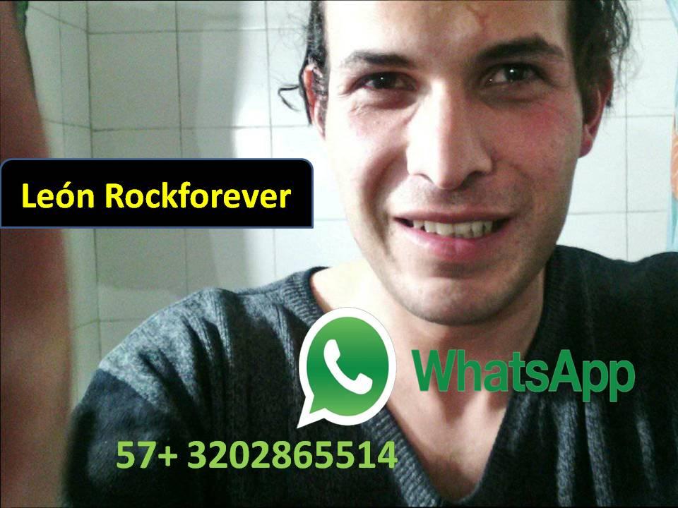 León Rockforever Whatssap Grupo