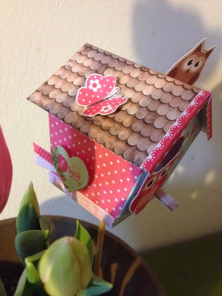 Craft time una dolce casetta gufosa for Quanto costruire una casa da 3000 piedi quadrati