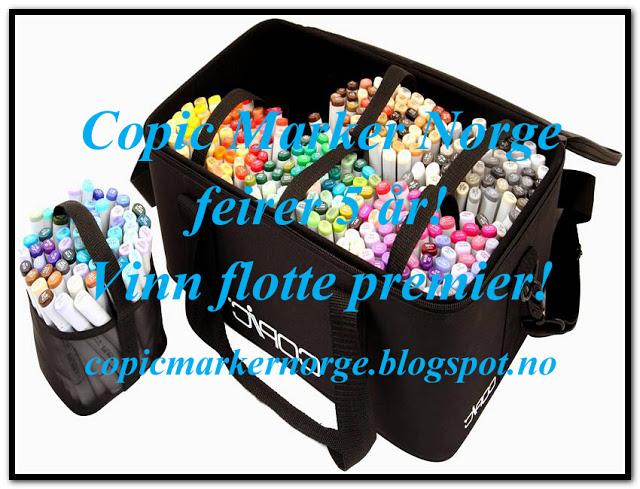 Bloghop hos Copic Norge