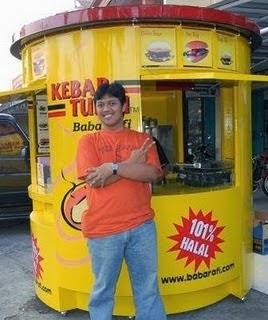 pemilik kebab baba