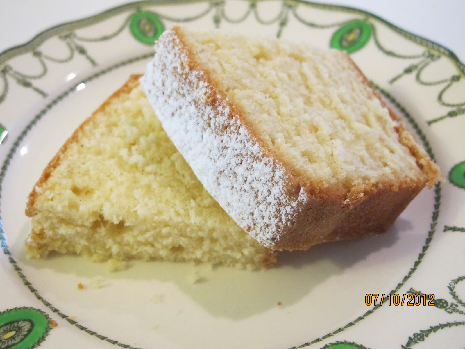 Simple Butter Cake Images : It s all about family and food: Basic Vanilla Butter Cake