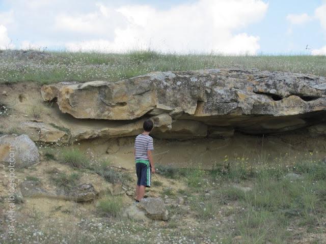 окаменелая лава, Крым