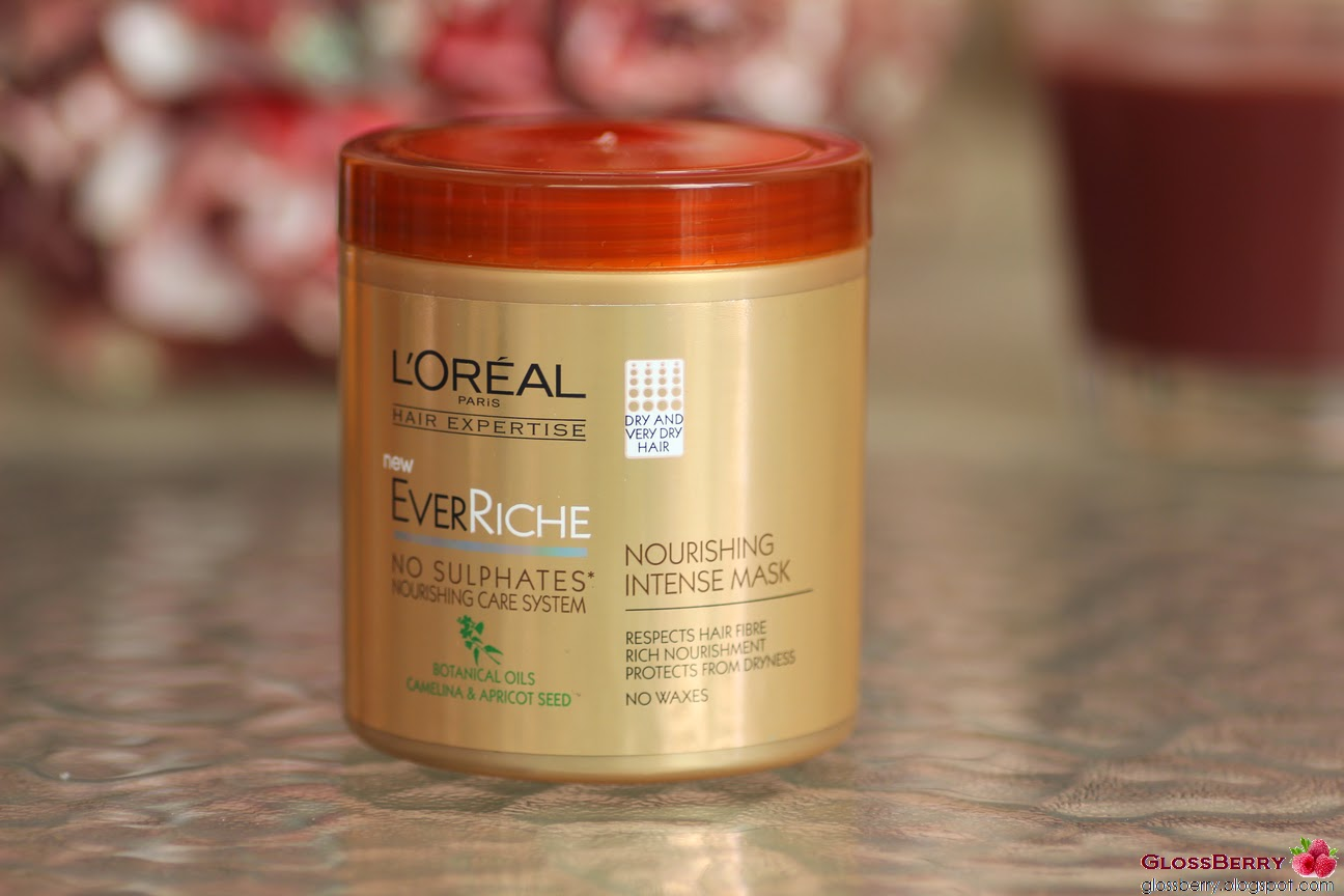 loreal ever riche intense mask review סקירה