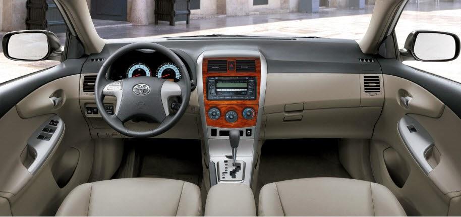 Sports Cars Of The World Of All Companies Toyota Corolla Xli 2014 New Shape Interior
