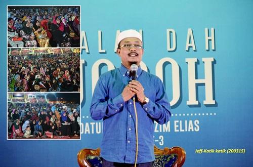 Tonton ceramah Kalau Dah Jodoh Ustaz Kazim Elias S3 di kaca tv, ceramah agama, tazkirah, persoalan agama, perbincangan perihal kekeluargaan