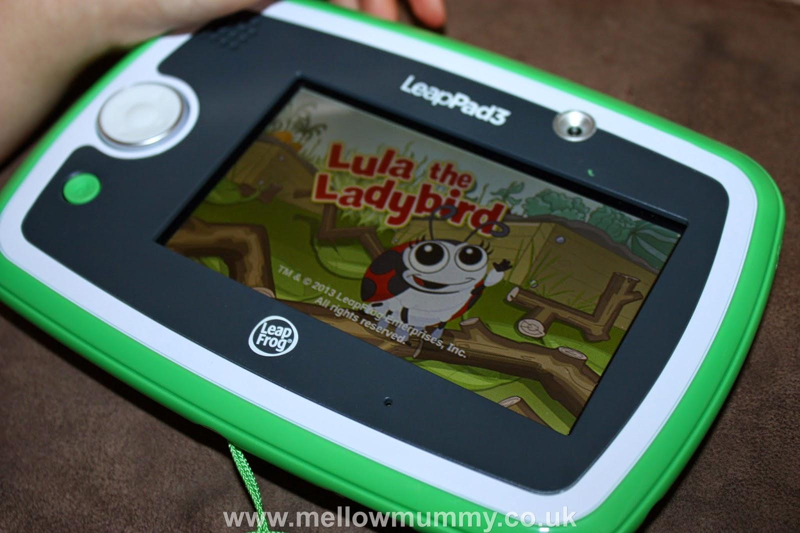 Leappad 3 Lula the Ladybird