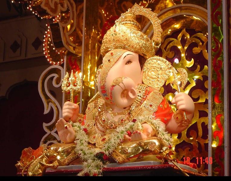 God hd wallpapers hindu god ganesha wallpaper - Shri ganesh hd photo ...