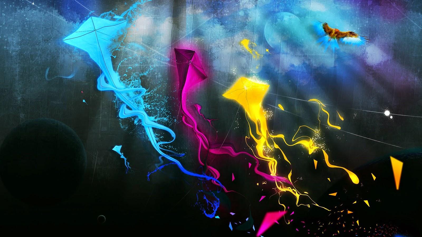 Gambar Abstrak HD Keren IMGOke
