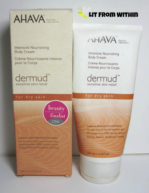 Intensive Nourishing Body Cream with Dermud, their trademarked Dead Sea ingredient