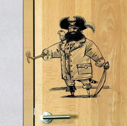 Captain Hook Door